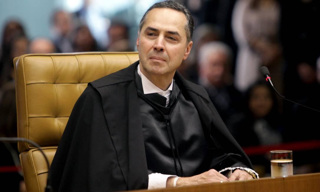 O ministro do STF Luís Roberto Barroso Foto: Fellipe Sampaio / Agência O Globo