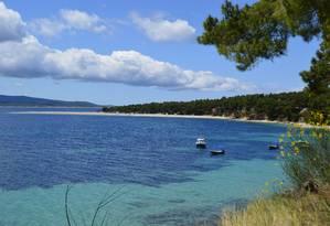Barcos de Split levam a diversas ilhas, como Brac Foto: Cristina Massari / O Globo