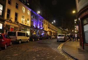 A Elizabeth St., em Old Town, é uma das mais pitorescas, repleta de lojinhas interessantes e restaurantes Foto: Fernanda Dutra / O Globo