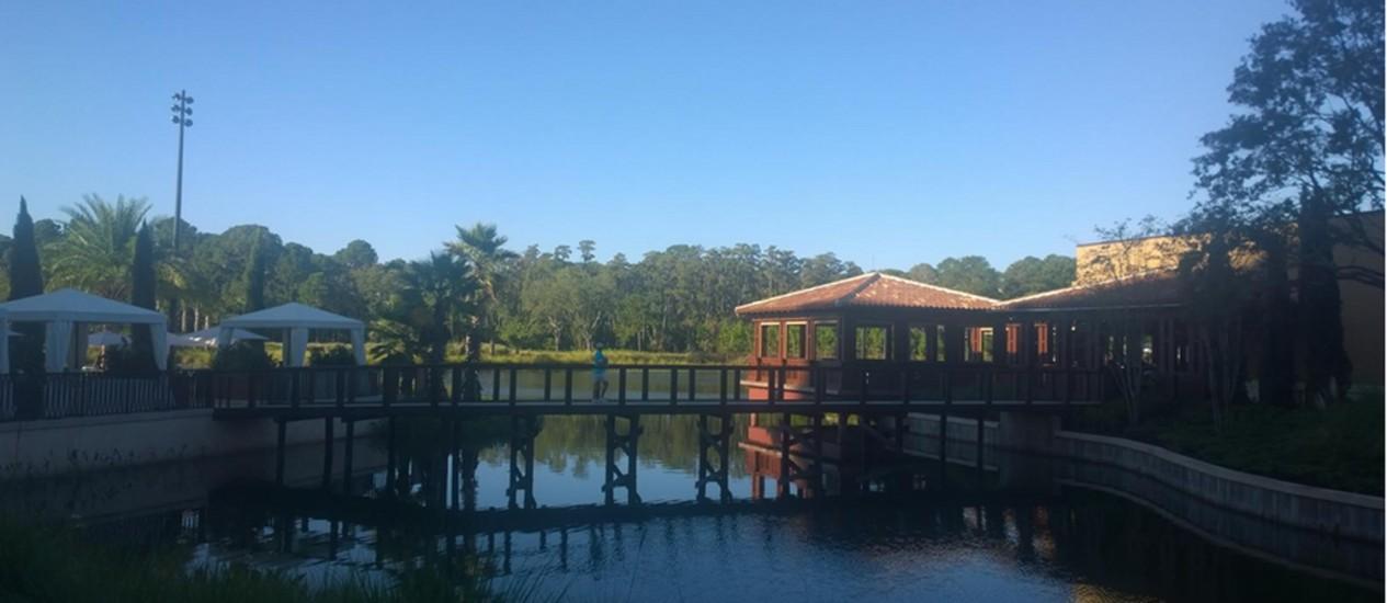 O novo Four Seasons de Orlando tem ampla área de lazer Foto: Mari Campos / Especial para O GLOBO