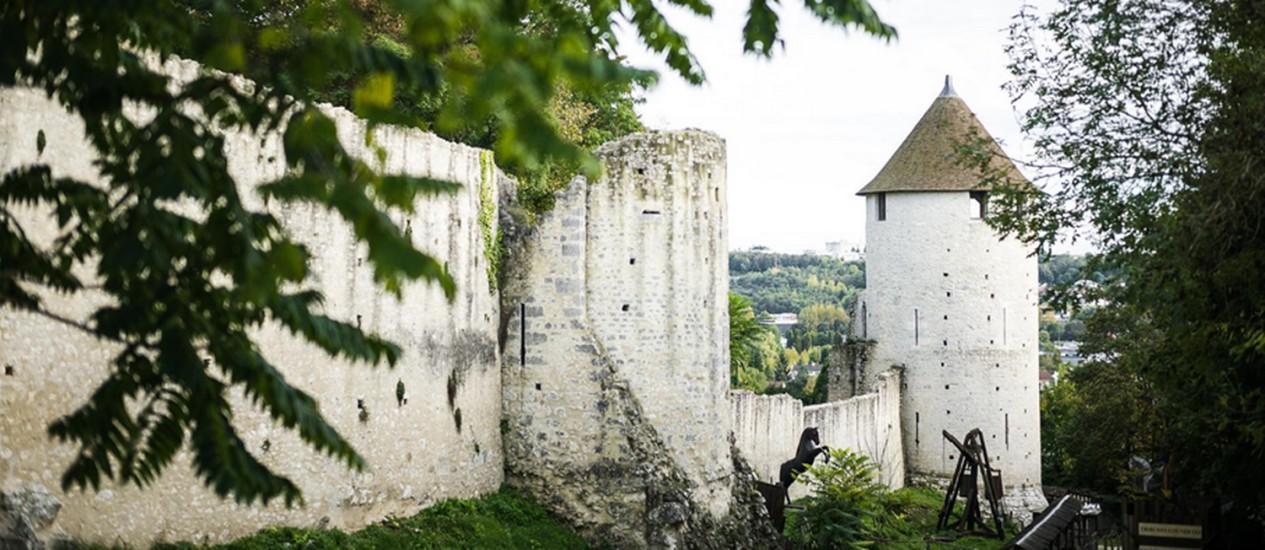 Paisagem medieval de Provins, no sul do Seine-et-Marne Foto: Sandro di Carlo / The New York Times