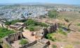 A fortaleza e as casas azuis de Jodhpur