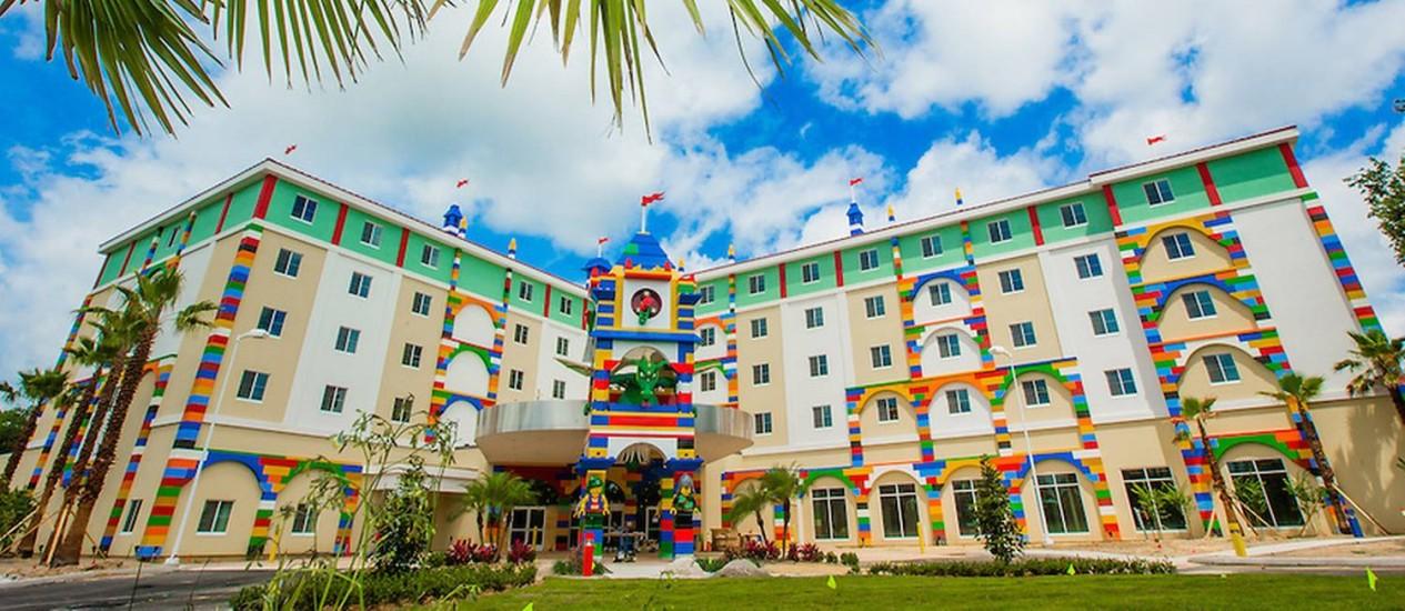 O Legoland Hotel, em Winter Haven, tem inauguração prevista para 15 de maio de 2015 Foto: Chip Litherland/Legoland Florida Resort / Chip Litherland for LEGOLAND Florida Resort, Merlin Entertainments Group