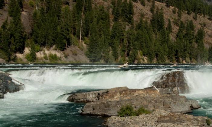 """Kootenai Falls, em Montana: cenas de """"O regresso"""" e """"O rio selvagem"""" Foto: Donnie Sexton / Divulgação"""