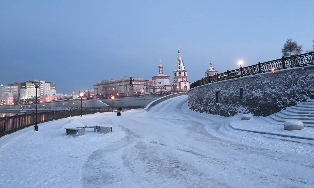 Irkutsk, cidade no caminho da Transiberiana, porta de entrada para o Lago Baikal Foto: Juarez Becoza / Juarez Becoza