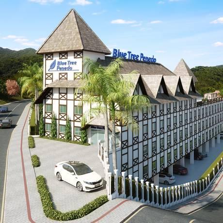 Blue Tree Towers, novo hotel da rede tem inauguração prevista para 2018 Foto: Reprodução