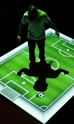 RS - FILE Games Rio 2014 - Campinho de Futebol, Museu do Futebol Foto: Divulgação