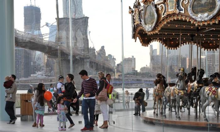 Jane's Carousel Foto: Julienne Schaer/NY&C&Company/Divulgação