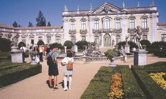 Palácio de Queluz, em Portugal Foto: Divulgação