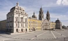 Palácio Nacional de Mafra, em Portugal Foto: José Paulo Ruas-DGPC/Divulgação