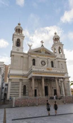 BV _ Cinco dicas _ Belem _ Basílica Nossa Senhora de Nazaré Foto: Estevam Avellar / TV Globo