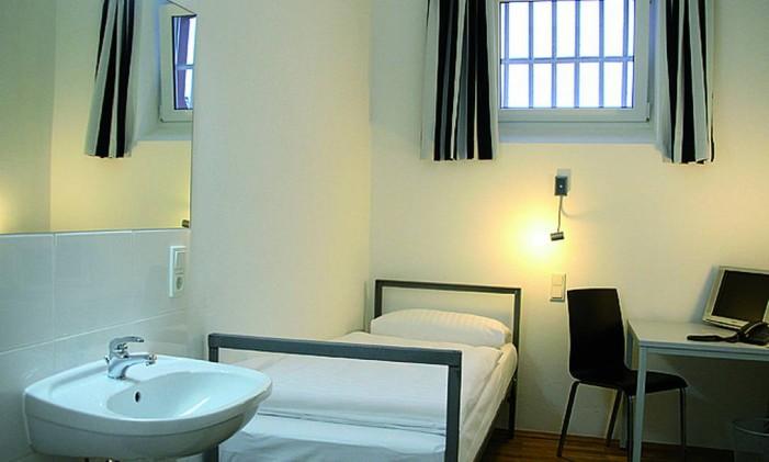 Alcatraz Hotel, em Kaiserslautern, Alemanha Foto: Divulgação