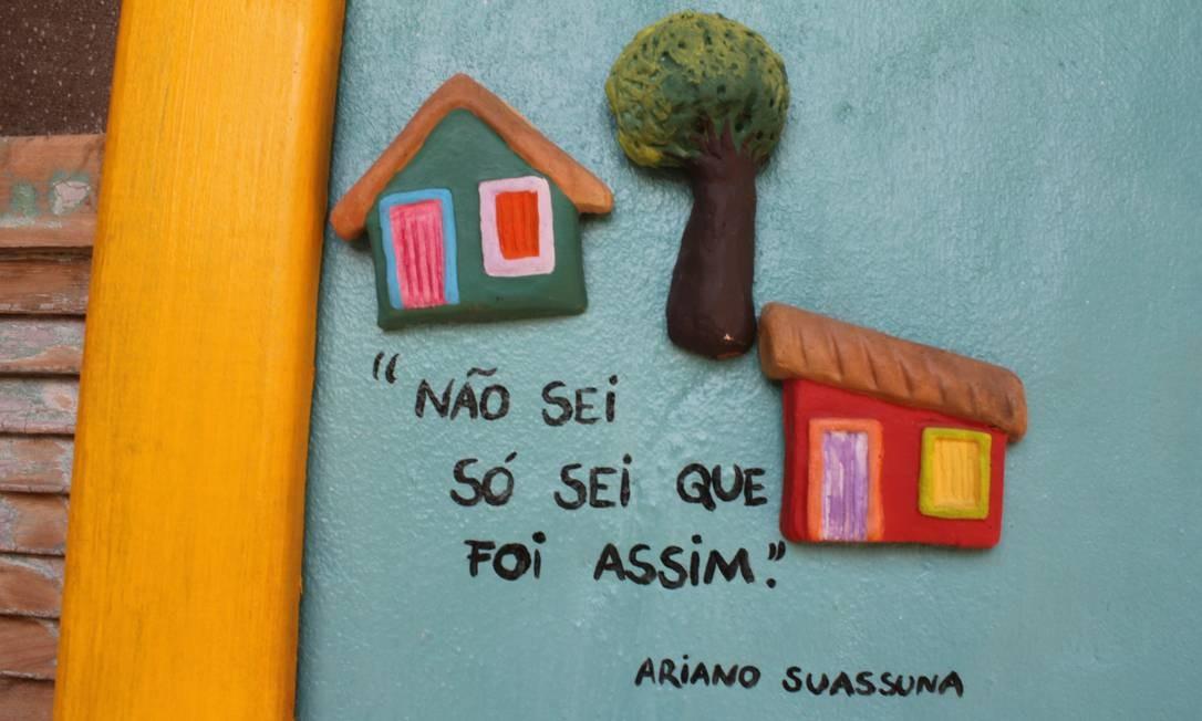 Ariano Suassuna sabia das coisas... Foto: Agência O Globo / Ana Beatriz Marin