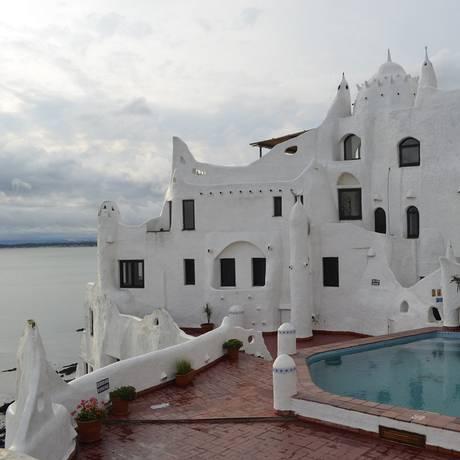 Casapueblo, uma das principais atrações em Punta del Este Foto: Cristina Massari / Agência O Globo