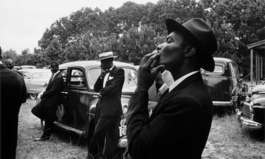 """Fotografia é parte da série """"Os americanos"""", de Robert Frank, composta por 83 fotografias originais do autor que fazem parte da coleção da Maison Européenne de la Photographie de Paris, expostas no Instituto Moreira Salles, em São Paulo Foto: Robert Frank / Divulgação"""