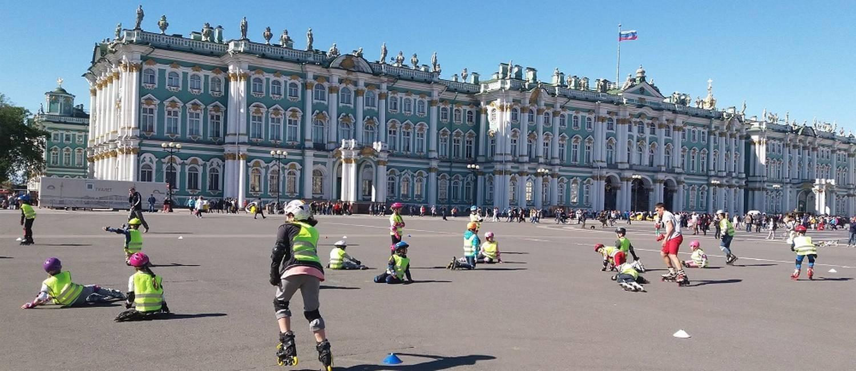 O Museu Hermitage: antigo palácio dos czares Foto: Gian Amato / Agência O Globo