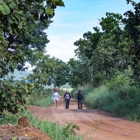 Trilhas percorrem 300 quilômetros no roteiro em homenagem à poeta Foto: Victor Ferreira de Souza/Divulgação Goiás Turismo