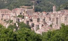 Sorano tem apenas quatro mil habitantes Foto: Sidvics/Wikimedia/Creative Commons