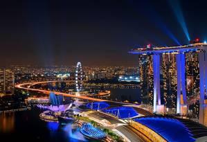 Singapura. A cidade asiática lidera o top ten das mais caras do mundo Foto: Divulgação