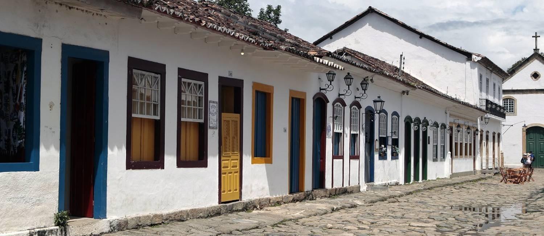 História. O Centro de Paraty é um dos pólos gastronômicos da região Foto: Luiz Ackermann / Agência O Globo