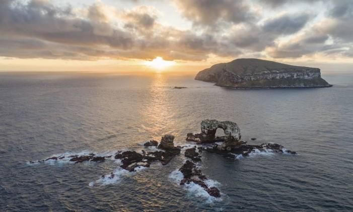 Galápagos. Show da natureza para os amantes do esporte Foto: Simon Pierce / AP