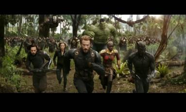 Telona. A nova aventura dos Vingadores reúne heróis nascidos em quatro continentes Foto: Marvel/Divulgação