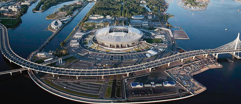 São Petersburgo  a sede da Copa de 2018 conhecida como Veneza russa ... 505070122d3c8
