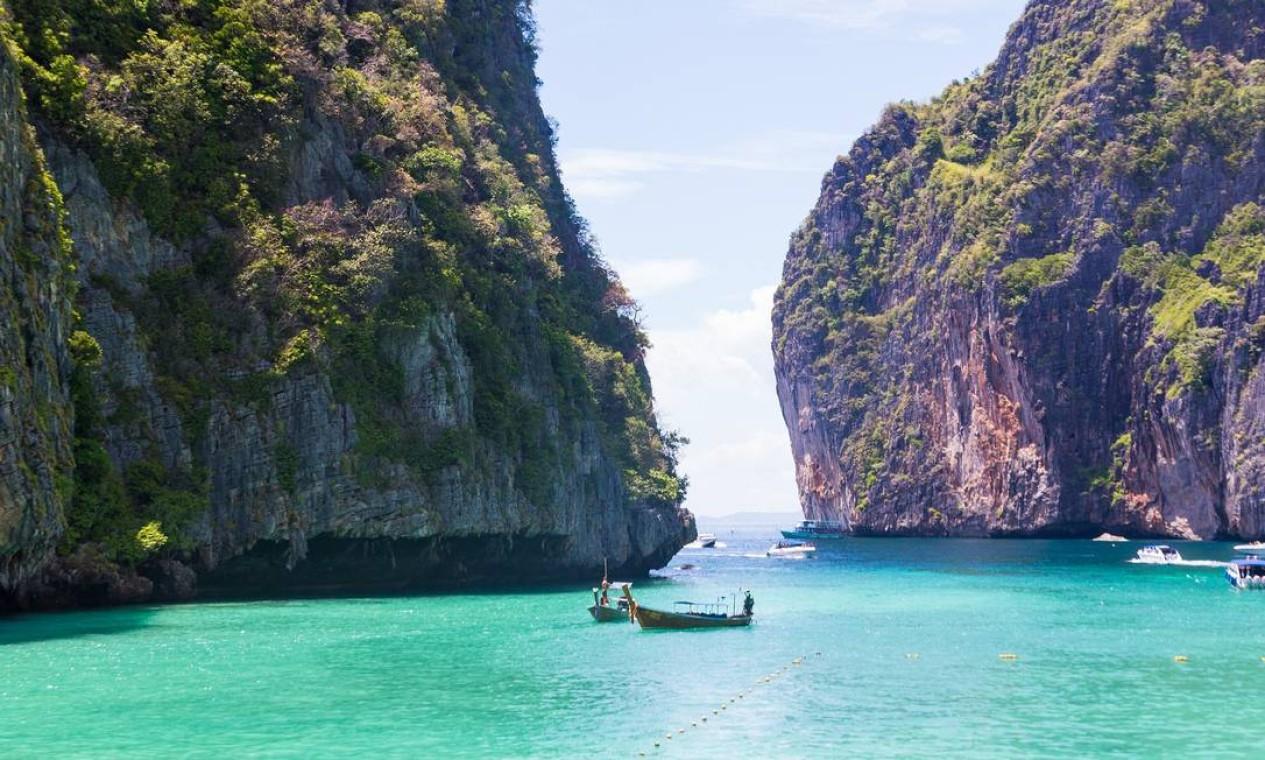 Entenda por que praia de filme de DiCaprio na Tailândia continuará fechada  - Jornal O Globo