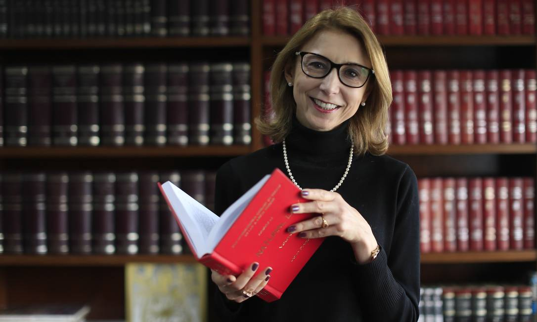 Epoca São Paulo (SP) 01/08/2018 - Angela Gandra, advogada. Foto: Edilson Dantas / Agencia O Globo Foto: Edilson Dantas / Agência O Globo