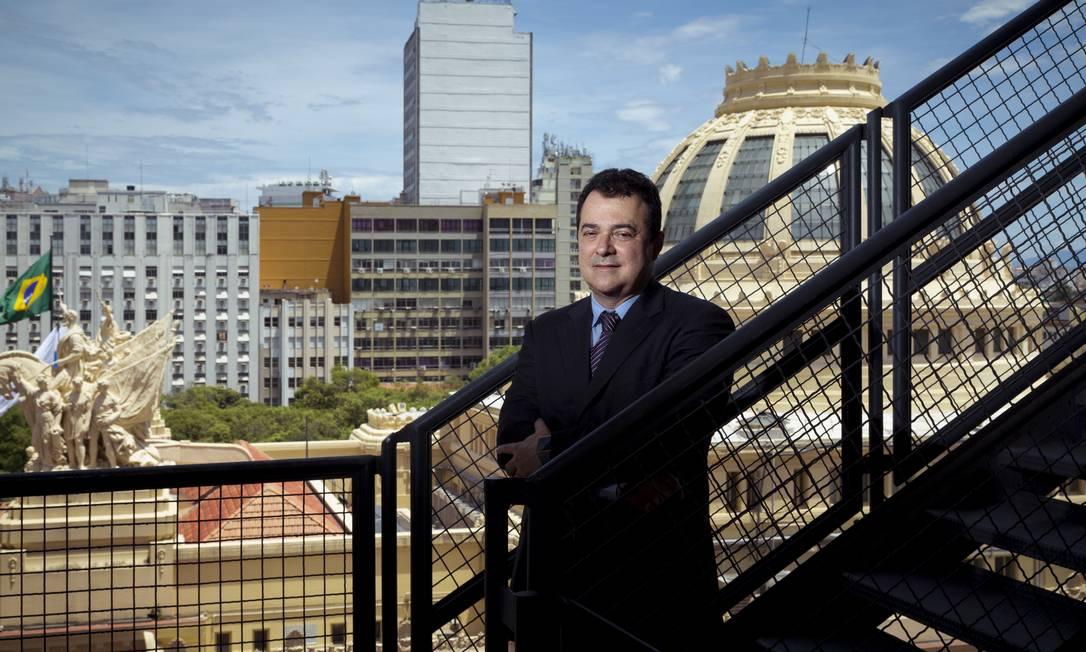 Jerson Lima Silva, novo presidente da Faperj: recursos investidos em ciência, tecnologia e inovação trazem retorno a médio e longo prazo Foto: Leo Martins