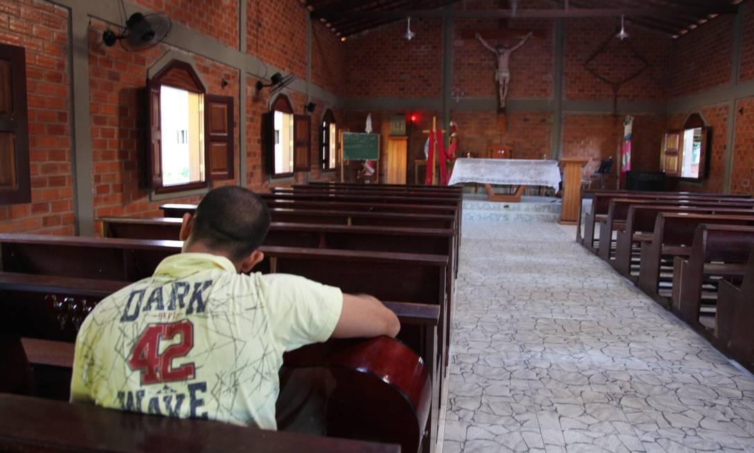 Comunidade terapêutica em Teresina, Piauí: instituições são a principal frente do governo para o tratamento de dependentes químicos Foto: Divulgação/Efrém Ribeiro/24-07-2013