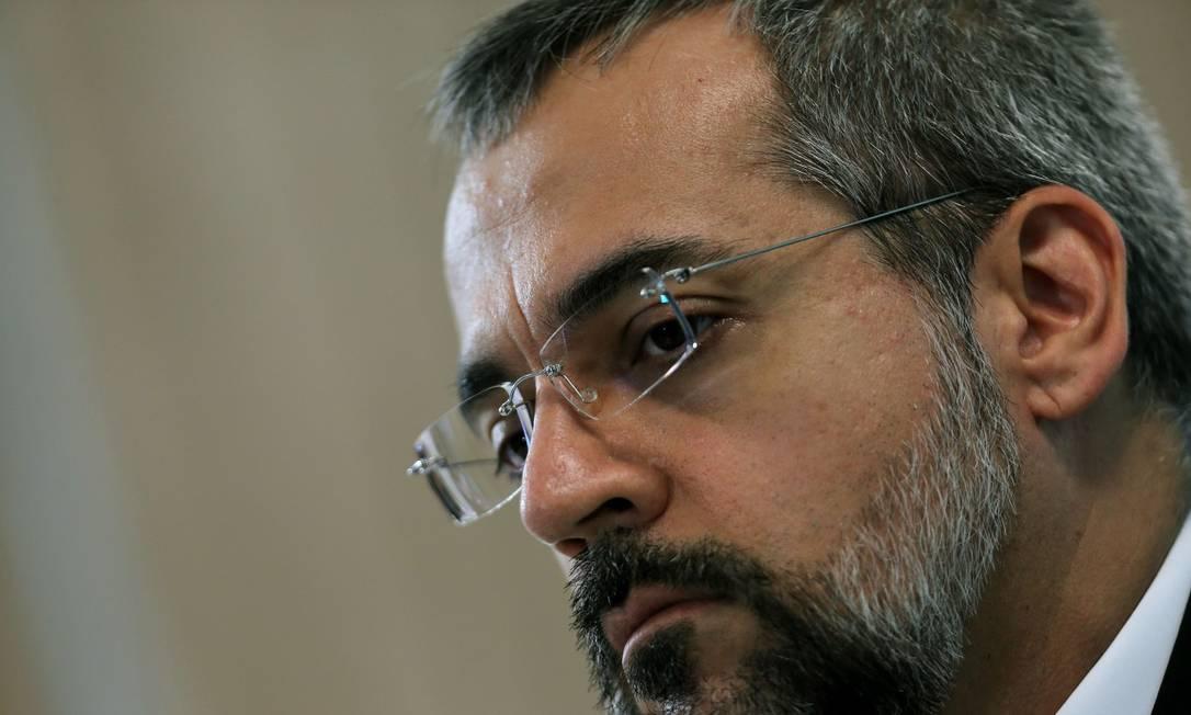 O ministro da Educação, Abraham Weintraub: convocado para sabatina na Câmara Foto: Jorge William