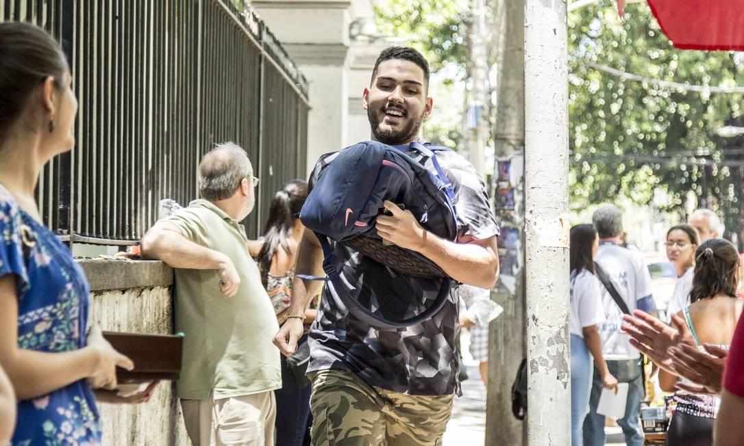 Inscrições para o Enem 2019 terminaram nesta sexta-feira Foto: Hermes de Paula / Agência O Globo