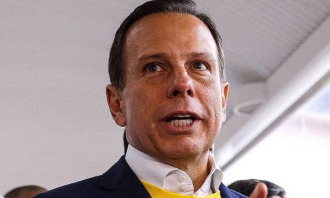 O governador de São Paulo João Doria (PSDB) Foto: Marcello Fim / Agência O Globo