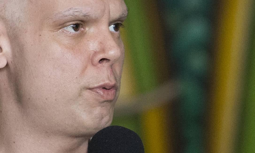 O prefeito de São Paulo, Bruno Covas, anuncia medidas para enfrentar a pandemia do coronavírus na capital Foto: ASI / Agência O Globo