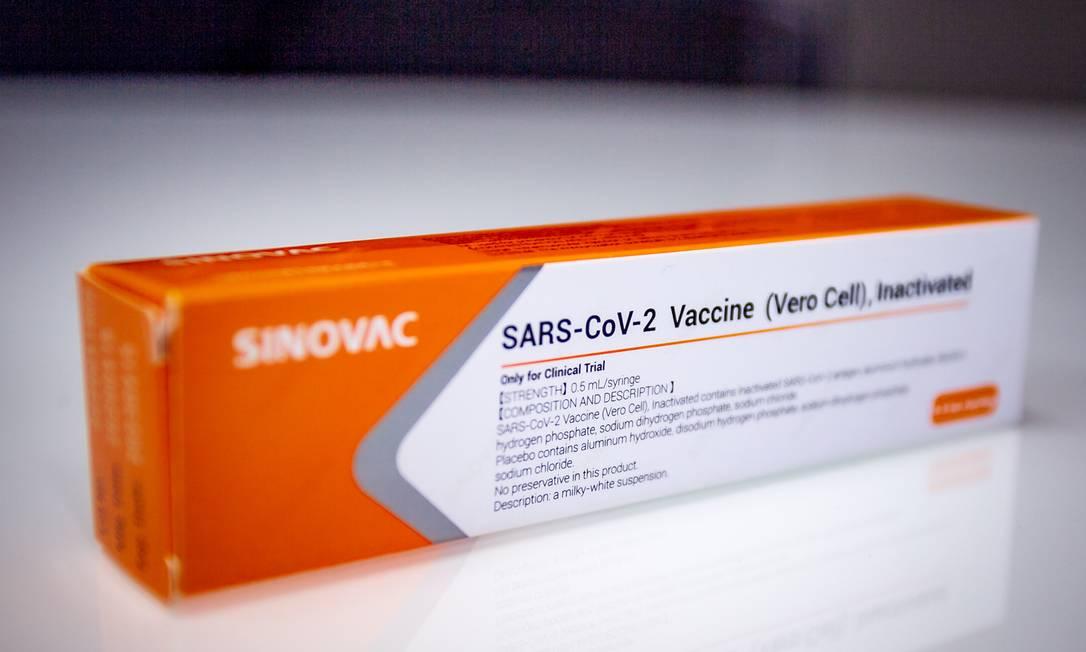 A vacina chinesa está sendo testada em centros de pesquisa localizados em São Paulo, Brasília, Rio de Janeiro, Minas Gerais, Rio Grande do Sul e Paraná Foto: Antonio Molina / Agência O Globo