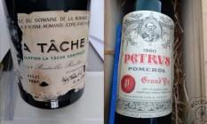 PF recuperou vinhos raros furtados de adega do MRE Foto: Reprodução/Polícia Federal