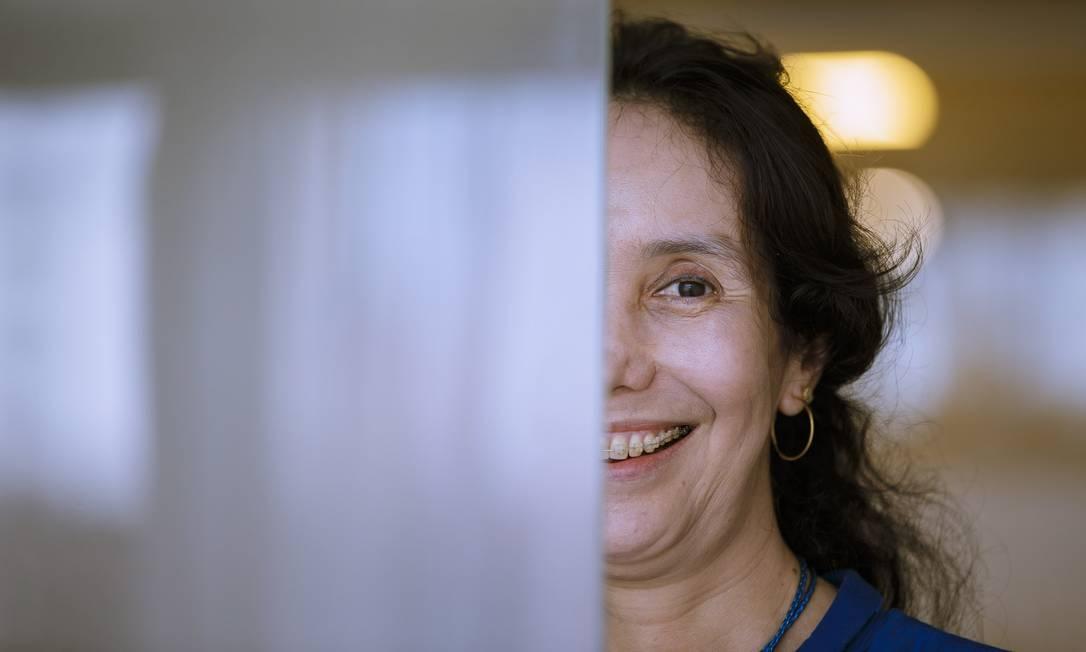 De acordo com a colombiana Julieta Guevara a maconha destrói a conectividade a ponto de deturpar a realidade, a intencionalidade e a identidade Foto: Daniel Marenco / Agencia O Globo / Agência O Globo
