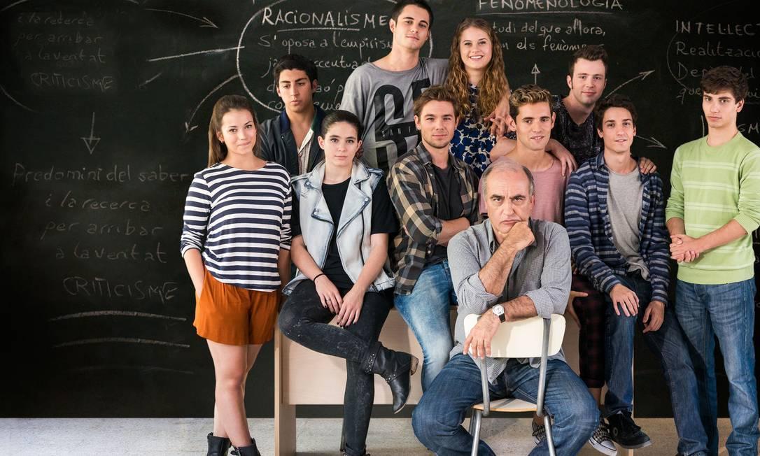 A série Merlí, sobre um professor catalão, fala de Filosofia de um jeito diferente Foto: Divulgação