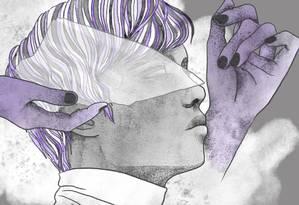 """Homens trans são tratados pela sociedade como mulheres """"erradas"""", experienciando o machismo e a violência como uma coação para negar a própria identidade. Foto: Arte: Lari Arantes"""