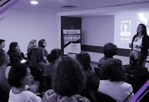 Encontro promovido pela ONU Mulheres em parceria com a Câmara de Comércio França-Brasil apresenta o Prêmio WEPs 2019 Foto: Adaptação Nina Millen / CCFB