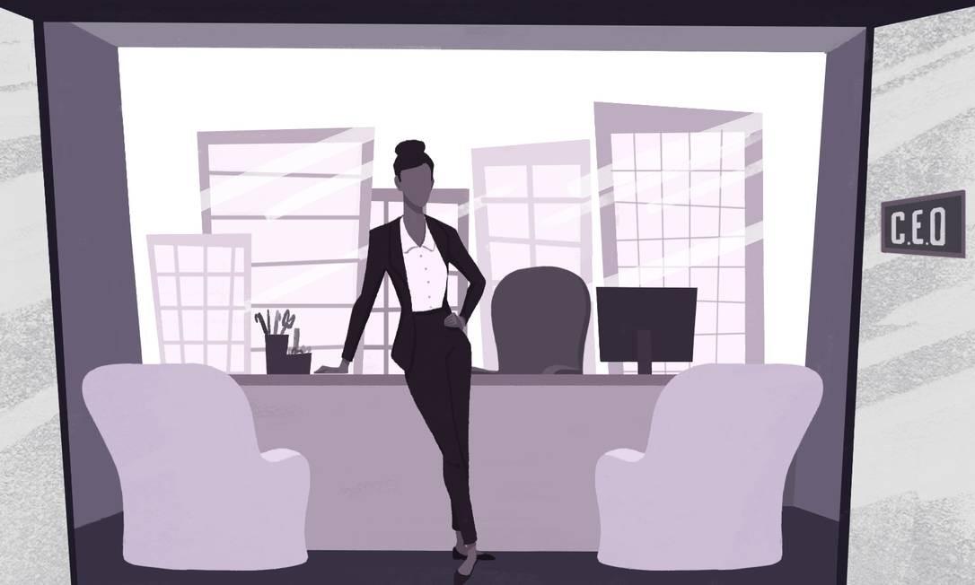 'Meu chefe me chamou na sala e disse que eu não poderia seguir tocando o projeto, por conta da minha gravidez', relata Sylvia Coutinho, CEO do UBS no Brasil Foto: Ilustração Nina Millen