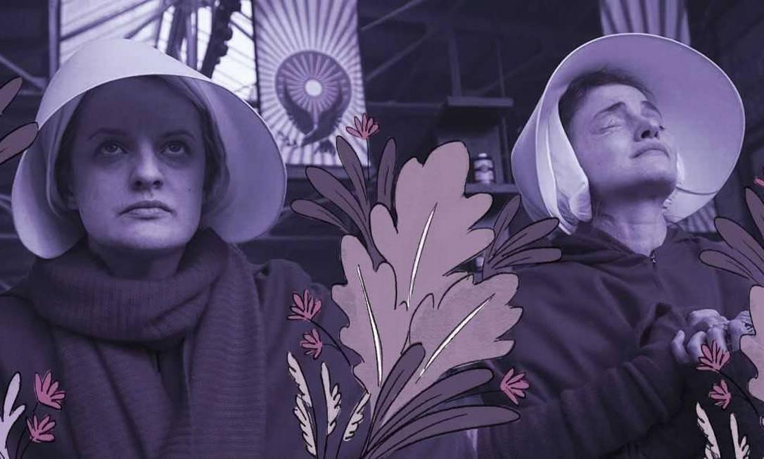 """Cena da série """"Handmaid's Tale"""" Foto: Divulgação"""
