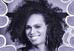 Valéria Barcellos é uma cantora, pretra e trans Foto: Divulgação/Silas Lima