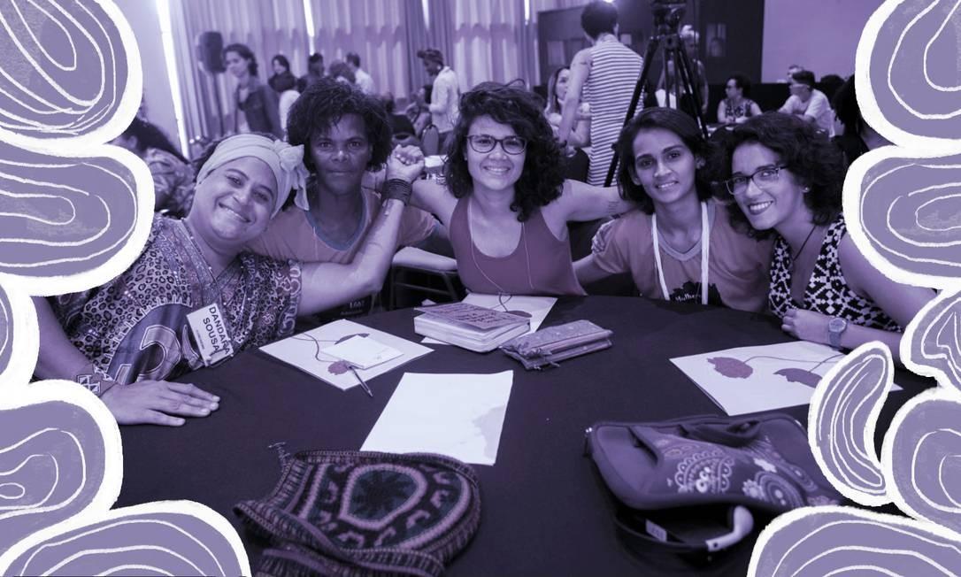 Coletivo Transarte, do Rio, de transexuais e travestis, foi um dos selecionados para receber recursos captados pelo Fundo Elas Foto: Arte sobre foto/Divulgação Fundo Elas