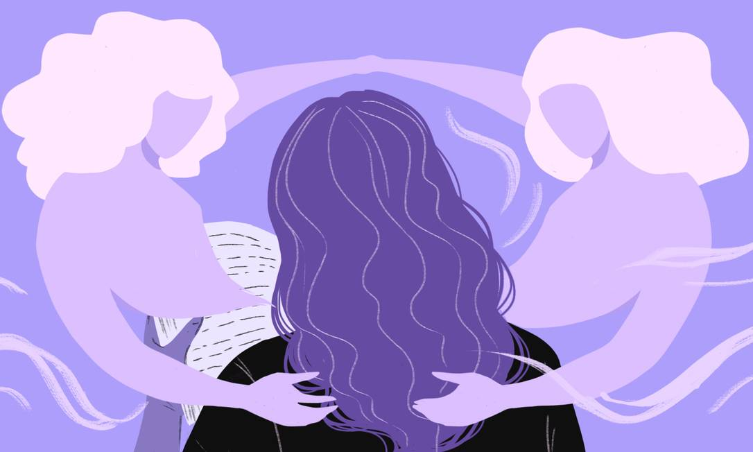 Livros feministas ou de ficção escritos por mulheres ganham cada vez mais espaço nas livrarias e entre as leitoras Foto: Arte de Nina Millen