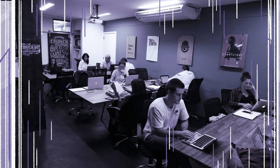 Pesquisa aponta que mulheres são vistas com a mesma capacidaade - ou mais - que os homes no mercado de trabalho Foto: Infoglobo
