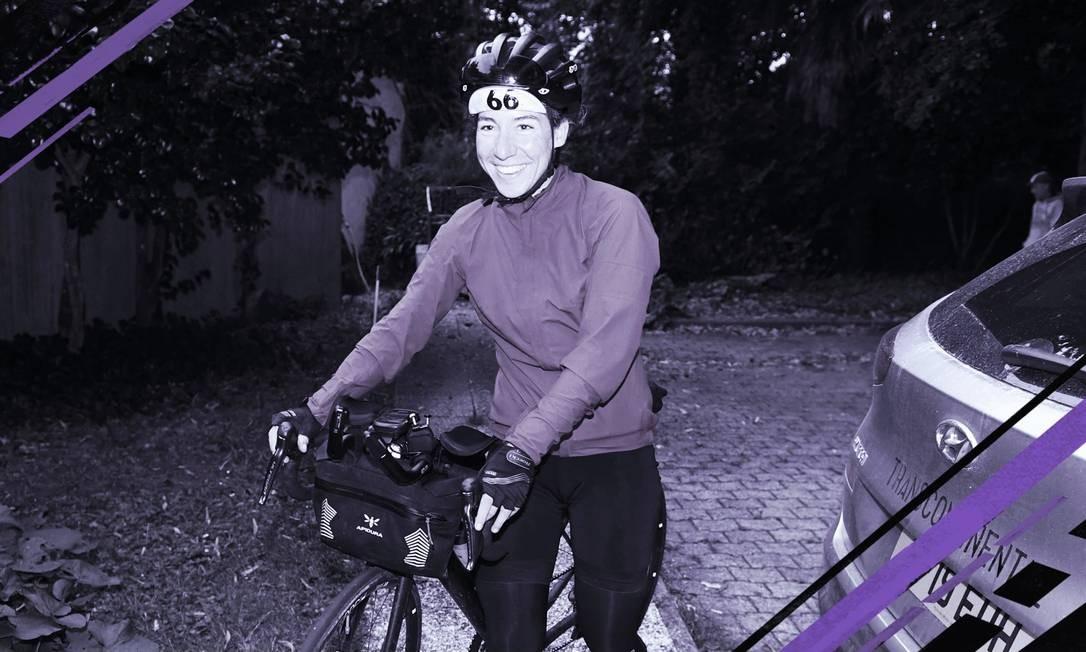 Fiona Kolbinger é a primeira mulher a vencer uma das maiores competições de ciclismo do mundo Foto: AFP