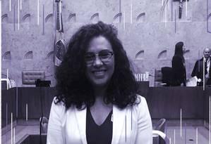 A advogada Ananda Puchta representou o Grupo Dignidade no julgamento da criminalização da LGBTIfobia no STF, em fevereiro Foto: Arquivo Pessoal