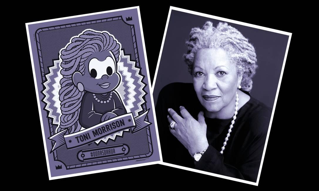 Toni Morrison é Milena, nova personagem da Turma da Mônica Foto: Divulgação